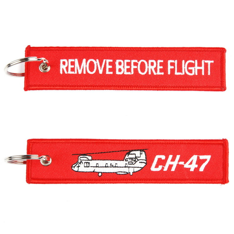 Remove before flight CH-47 Chinook