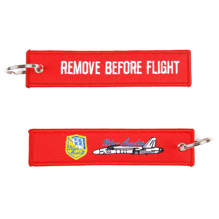 Keyring Remove Before Flight the Blue Angels