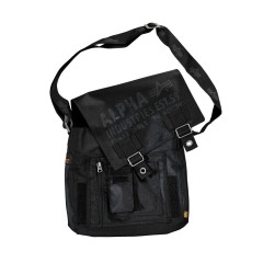 Alpha Industries Cargo Oxford Utility Bag - black
