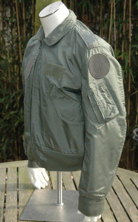 US pilot CWU summer flight jacket Nomex used