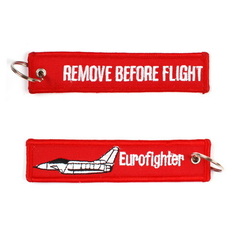 Keyring Remove before flight Eurofighter