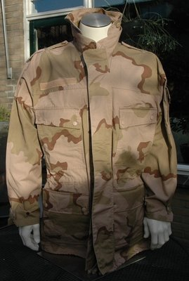 Parka desert camo Dutch Army