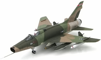 HobbyMaster Diecast F-100D Super Sabre 0-53669 Texas ANG 182nd TFS Air Power Series