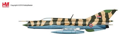 HobbyMaster Diecast Mig-21FL 1411 Syrian Air Force Air Power Series
