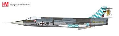 HobbyMaster Diecast Lockheed F-104G Starfighter 26+30 JG.32 Bavaria Luftwaffe Air Power Series