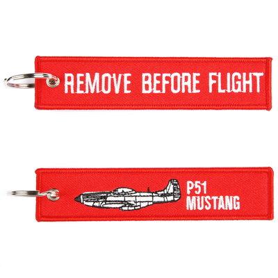 P-51 Mustang keyring