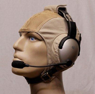 Headset flying helmet - Mesh