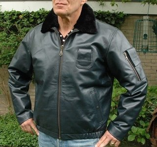 France Air Force flight jacket leather