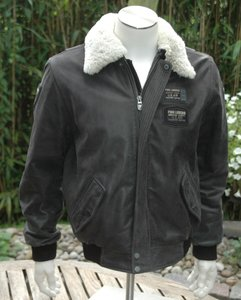 leather PME Legend flight jacket (medium size)