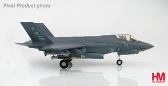 HobbyMaster Diecast Lockheed F-35A Lightning II 13-5071 HL 34th FS USAF Air Power Series