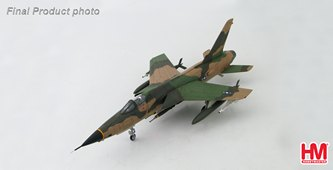 HobbyMaster Diecast F-105 Thunderchief 60-0424 34th TFS 388th TFW Korat RTAFB Thailand 1967 Air Power Series