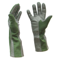Nomex pilot gloves