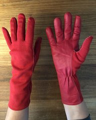 Nomex pilot gloves (Red Arrows red)