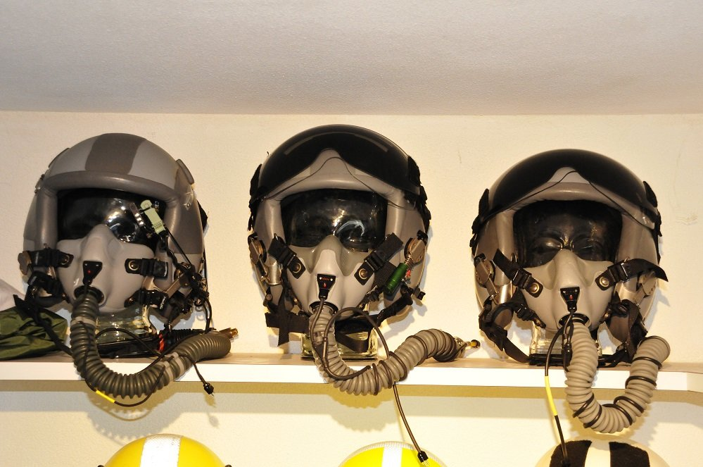 Flight-helmets