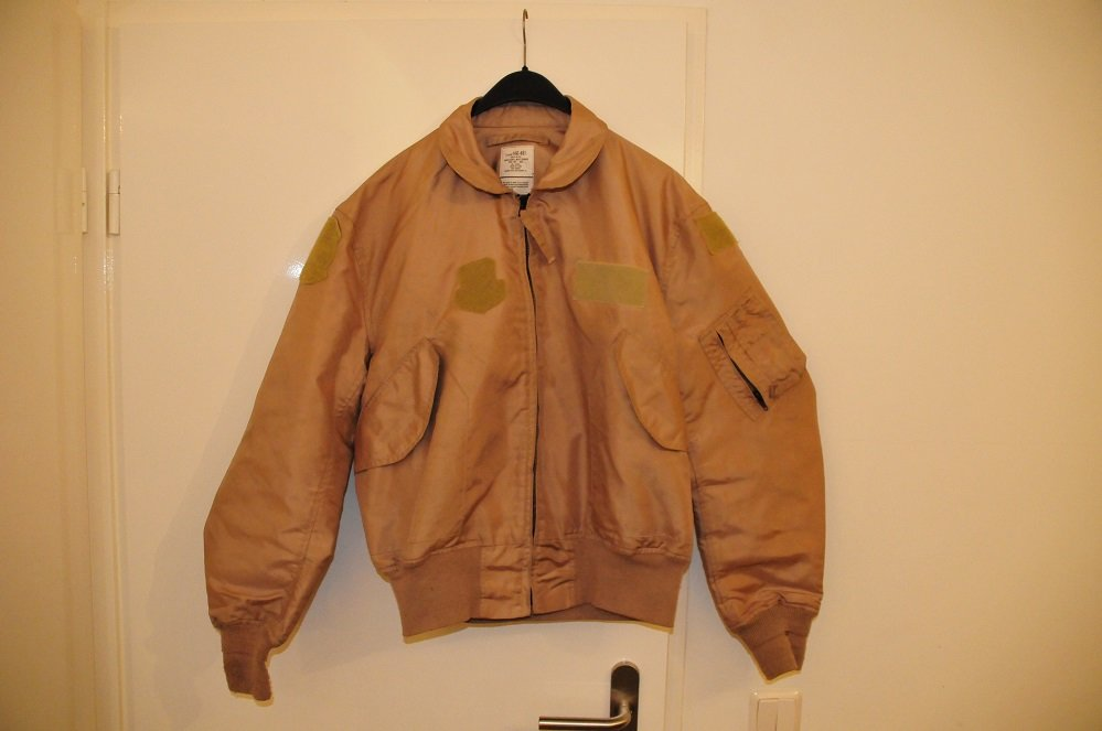 Nomex CWU-36/P flight jacket XL 46-48 desert color
