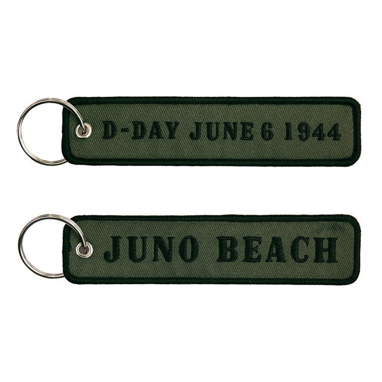 keyring keychain D-Day June 1944 Juno Beach