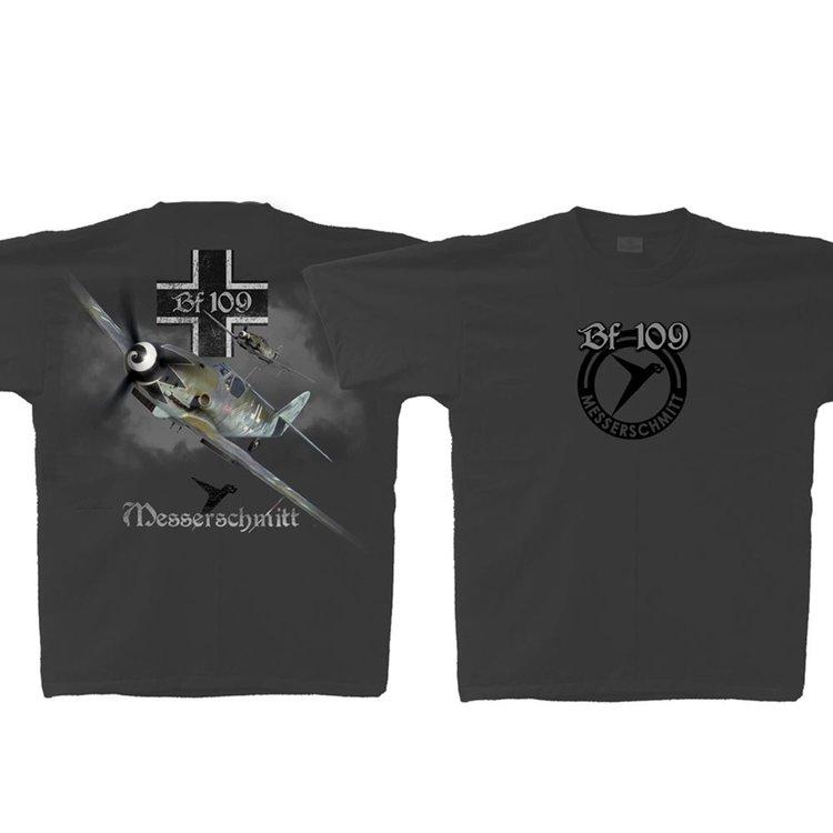 Bf 109 Messerschmitt T-Shirt Luftwaffe Bf109 shirt
