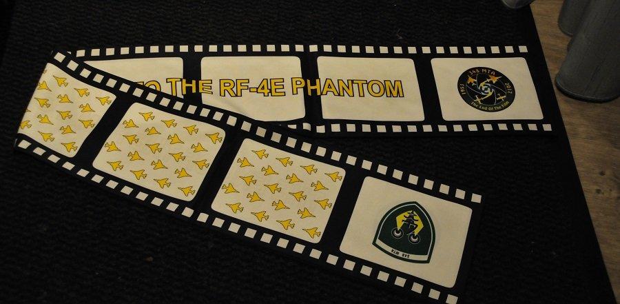 348 MB pilot scarve F-4 Phantom Hellenic AF 1953 - 2017