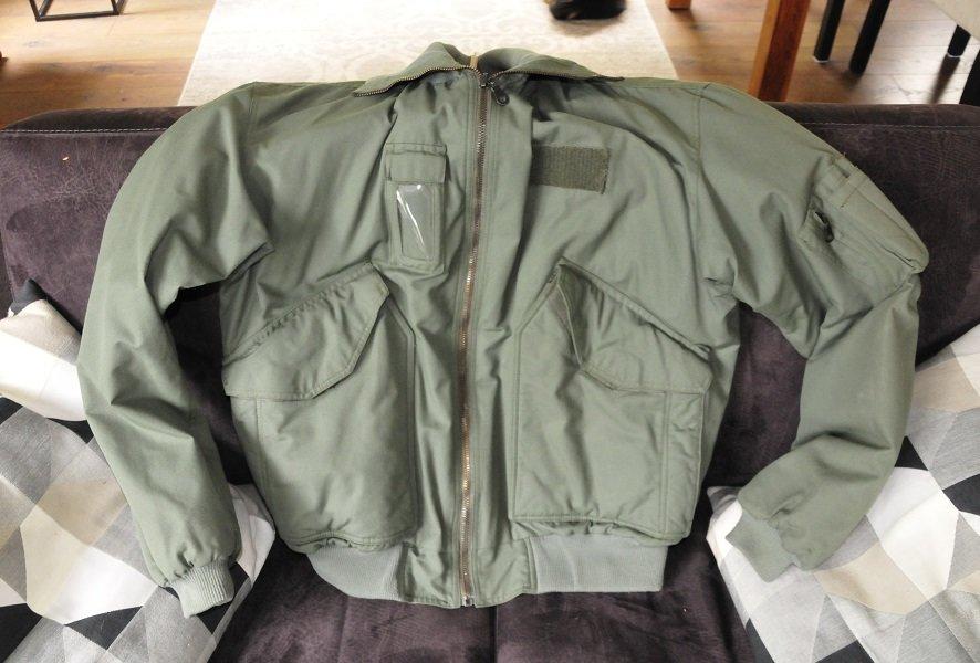 original KLu flight jacket size Large