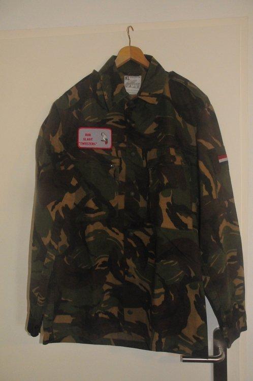 KLU field jacket NATO size 8405