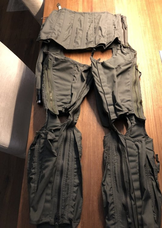 CSU-13B/P Anti-G suit size Small Anti-G Garment