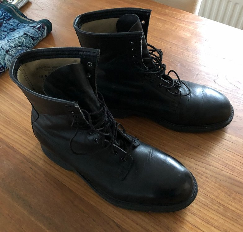 US Pilot shoes black size 44 / 45 in new condition