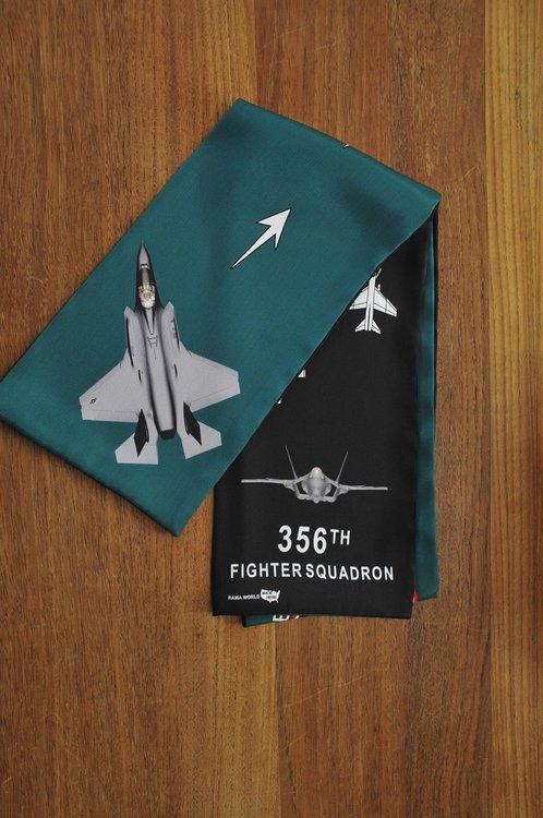 356th Fighter Squadron pilot scarf F-35 Lightning
