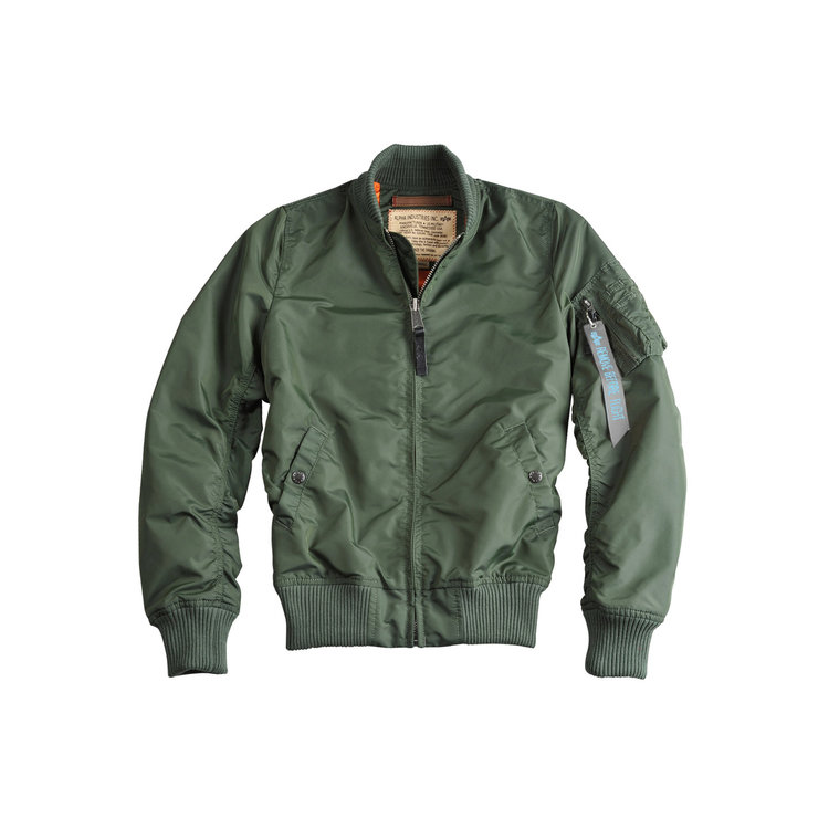 Alpha MA1 TT flight jacket sage green - women