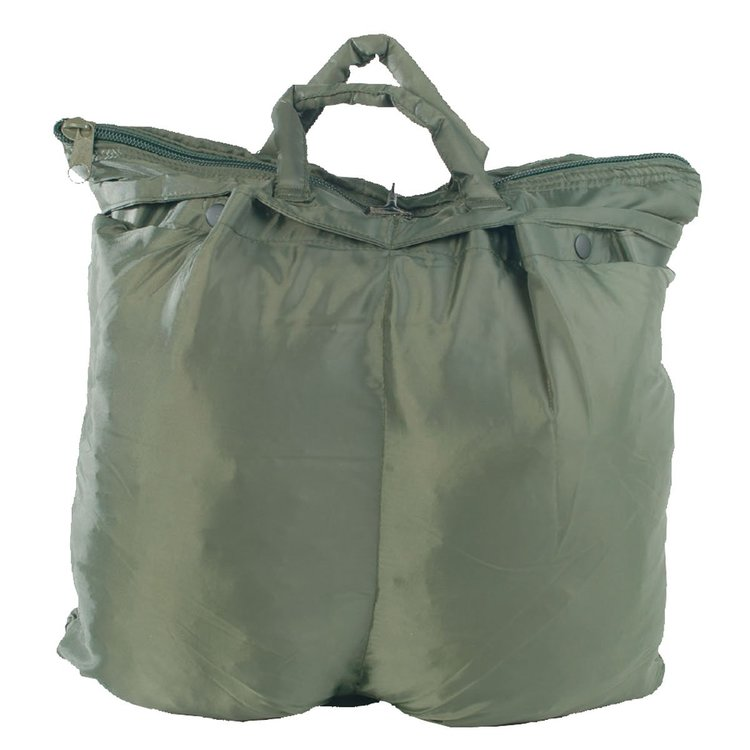 US pilot helmet bag oliv green