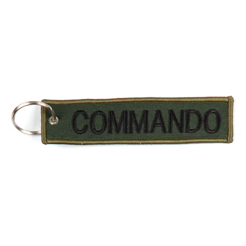 keyring Commando embroided Key Chain