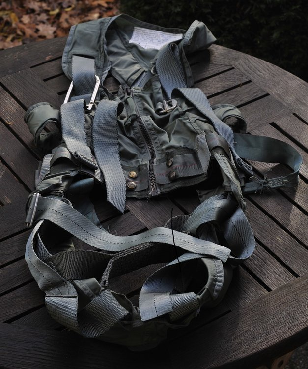 MA-2 Torso Harness Navy F-18 Hornet, fighter pilot harness vest, aircrew vest