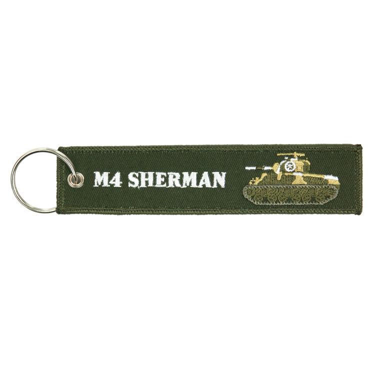 M4 Sherman (tank) Keychain Keyring