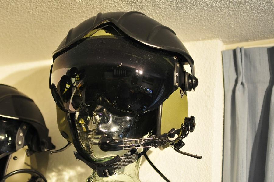 Gentex Alpha 200 flight helmet RAF helicopter pilot