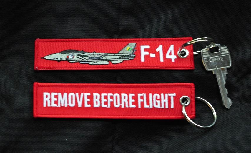 F-14 Tomcat Keyring Keychain