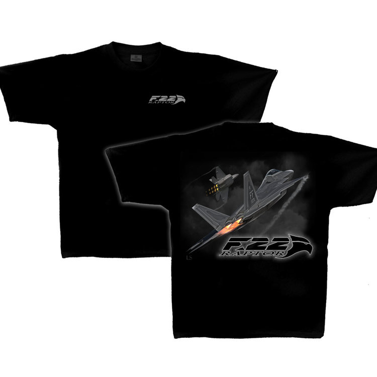 F-22 Raptor Adult T-Shirt Skywear Line