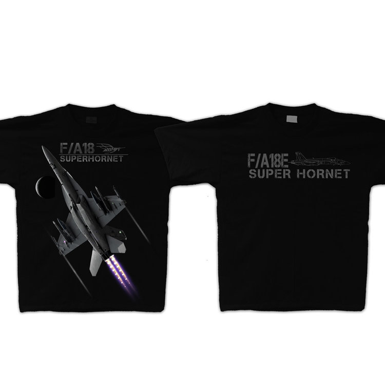 F/A-18 Super Hornet Adult T-Shirt Skywear Line
