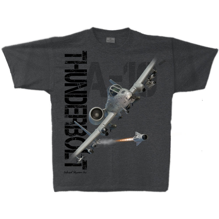 A-10 Thunderbolt Adult T-Shirt Skywear Line
