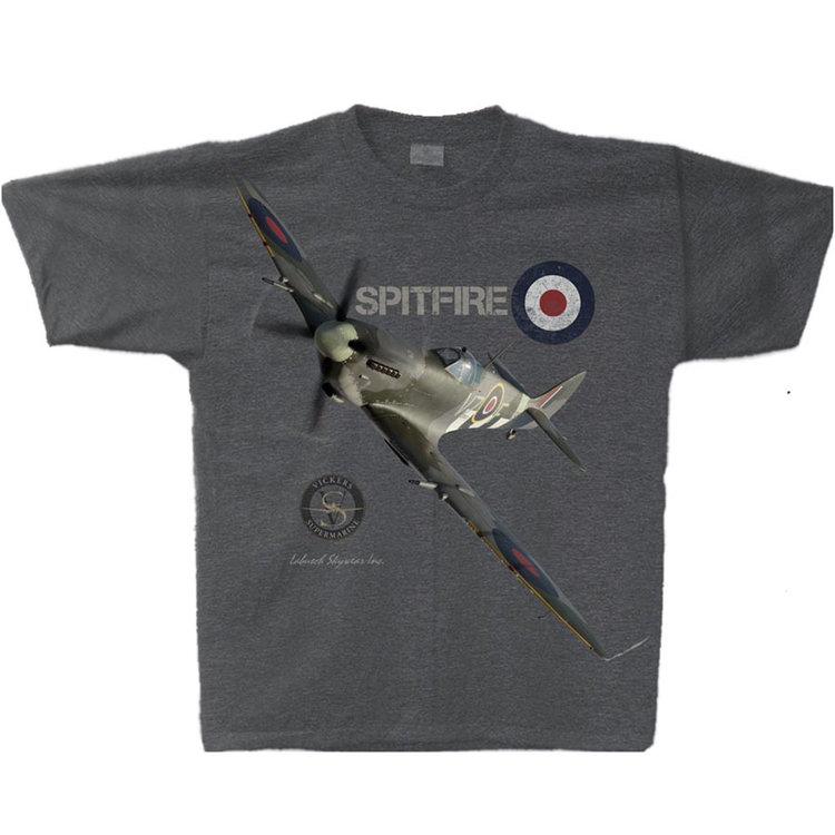 Spitfire Adult T-Shirt Skywear Line