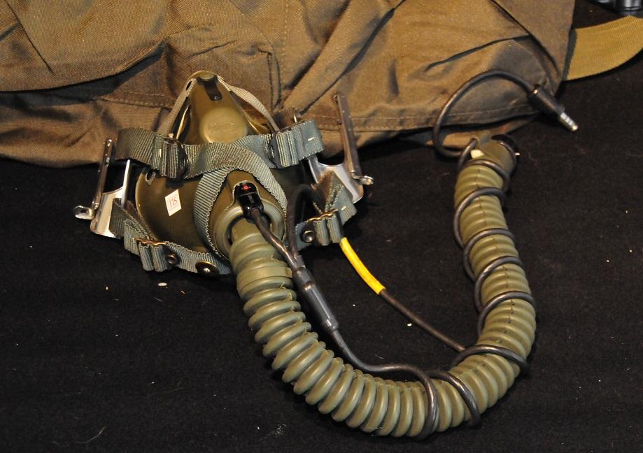 Gentex MBU-5 Oxygen mask size Long Narrow green