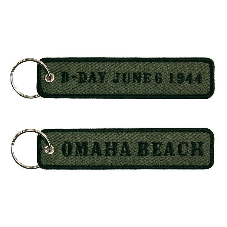 keyring keychain D-Day June 1944 Omaha Beach
