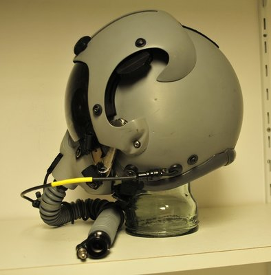 Gentex HGU-55/G flight helmet Small with MBU-12/P oxygen mask Long
