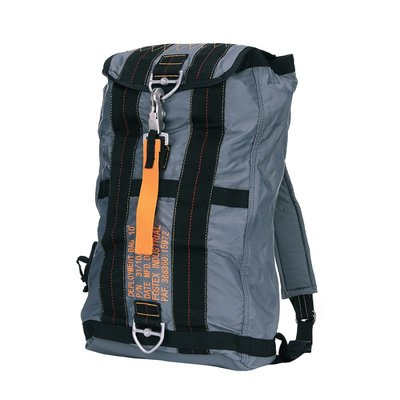 Parachute bag no. 10 grey