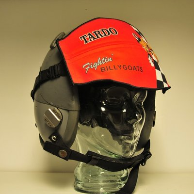 Gentex HGU-55/P flight helmet with visor cover