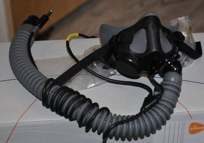 Gentex MBU-20/P oxygen mask size Medium Wide brandnew in plastic / complete