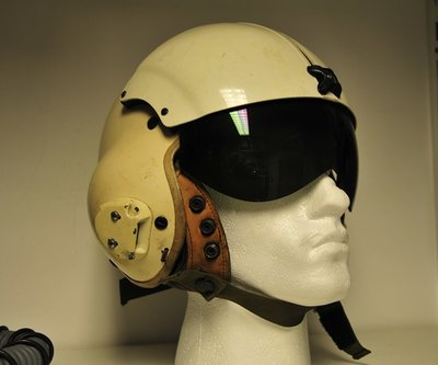 SPH-4 helicopter flight helmet Vietnam period XL size