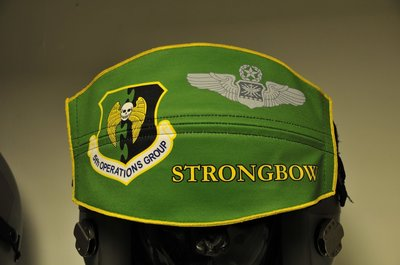Flight helmet visor cover 5th Operations Group