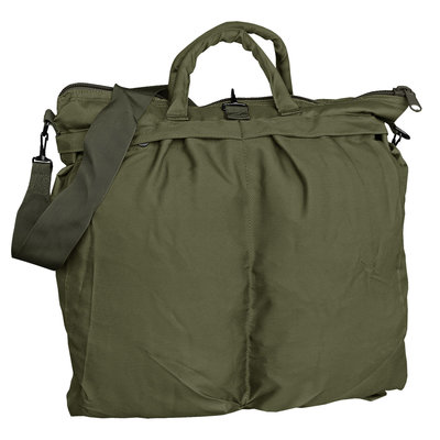 US MA1 pilot helmet bag oliv green