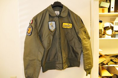 Nomex CWU-36/P flight jacket L 42-44 NATO Awacs patches & name-tag
