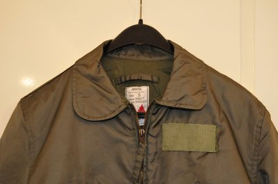 Nomex flight jacket size Small winter version