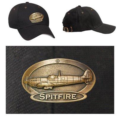 Spitfire Luxury baseball cap with metal emblem Spitfire brass cap